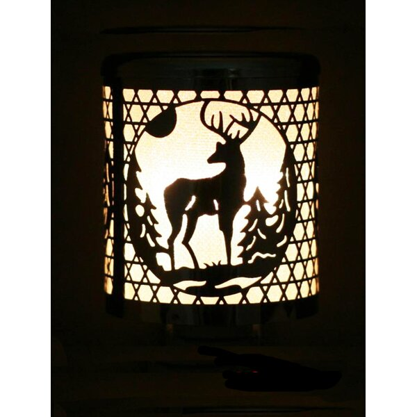 Christmas Deer Cutout Night Light by Mr. MJs