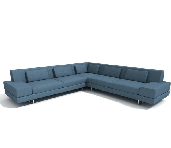Hamlin Sectional by TrueModern