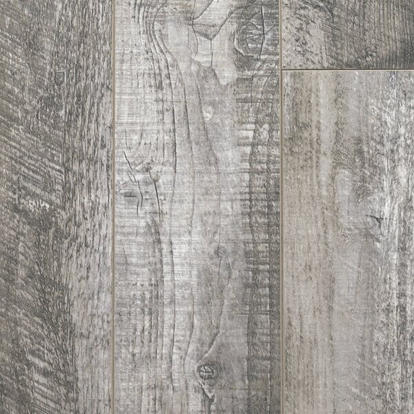 Signature 6 x 48 x 12mm Laminate Flooring in Antique Gray by Dyno Exchange