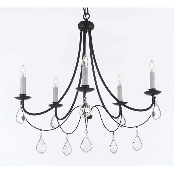 Weigand 5-Light Candle Style Classic / Traditional Chandelier by Astoria Grand Astoria Grand