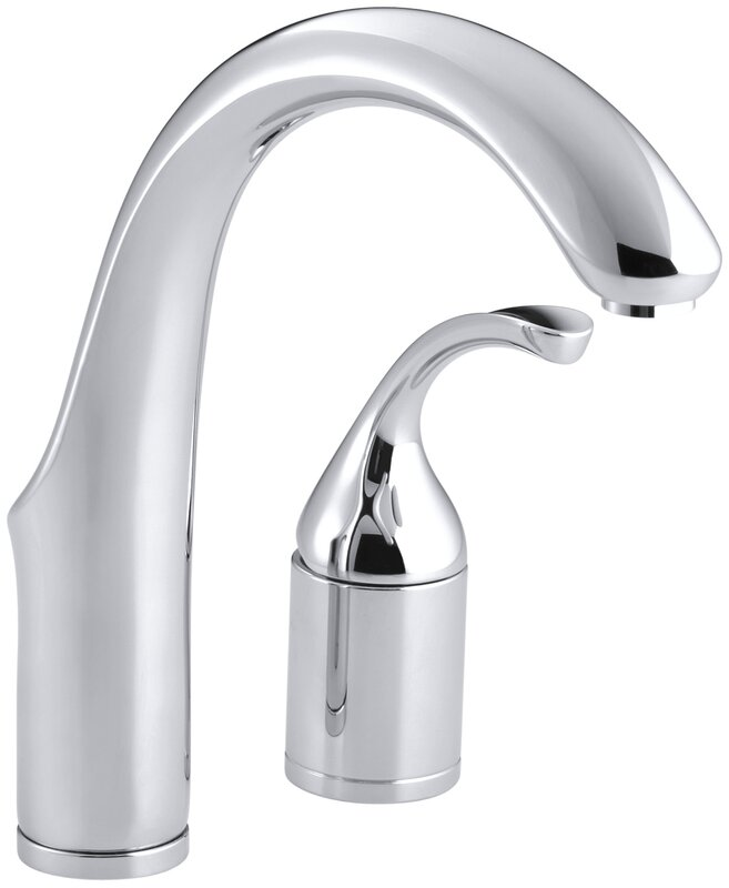 Forté Two-Hole Bar Sink Faucet with Lever Handle