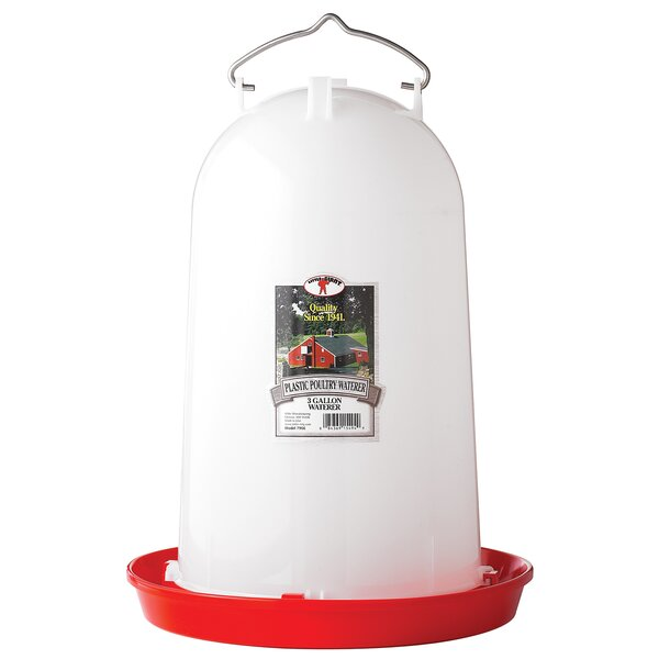 Little Giant Farm & Ag Poultry Waterer by Miller Mfg
