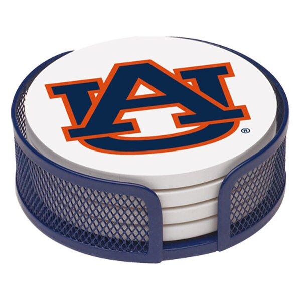 5 Piece Auburn University Collegiate Coaster Gift Set by Thirstystone