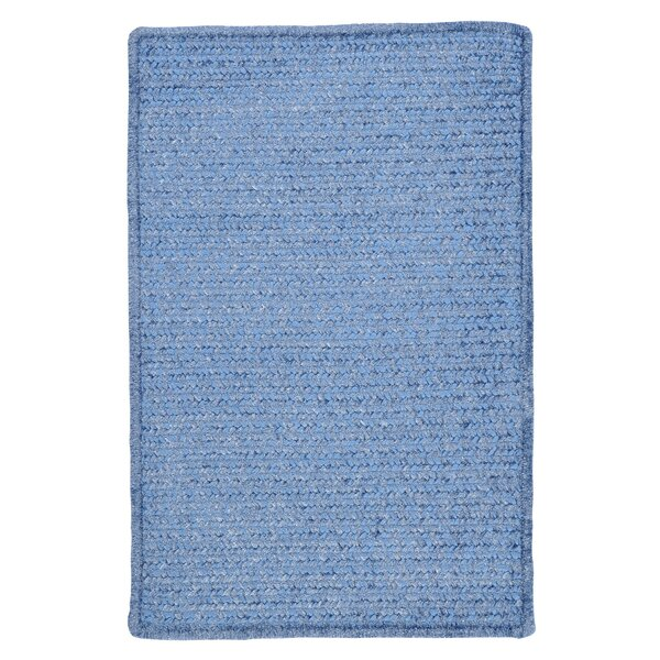 Gibbons Petal Blue Indoor/Outdoor Area Rug by Charlton Home