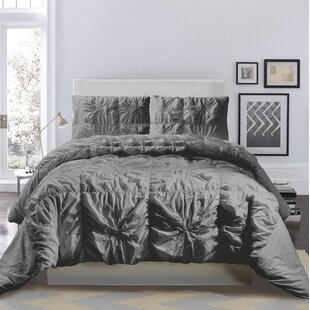 Wilford Cooper Square Cotton Duvet Cover Set by Mercury Row