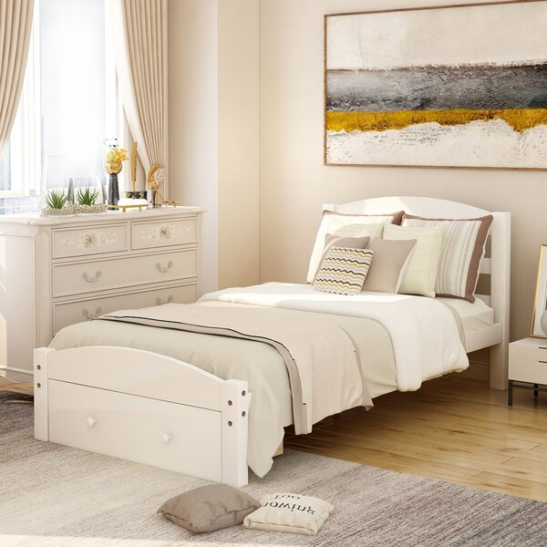 Sundance Twin Solid Wood Storage Bed By Gracie Oaks