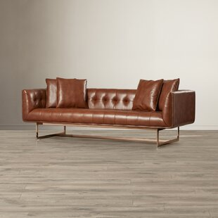 Club Leather Chesterfield Sofa