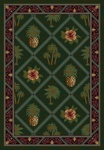 Signature Palm and Pineapple Area Rug by Milliken