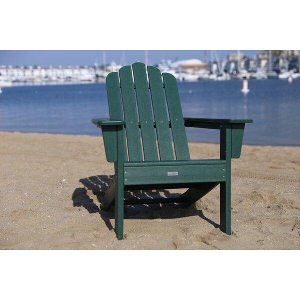 Pecoraro Patio Plastic Adirondack Chair by Breakwater Bay Breakwater Bay