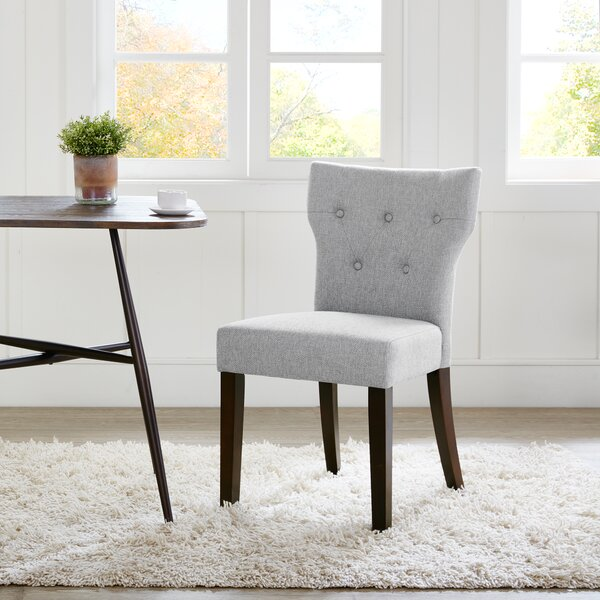 Celeste Upholstered Dining Chair (Set of 2) by Latitude Run