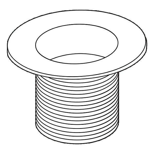 Waste Plug Dome Trim Conversion Kit by Delta