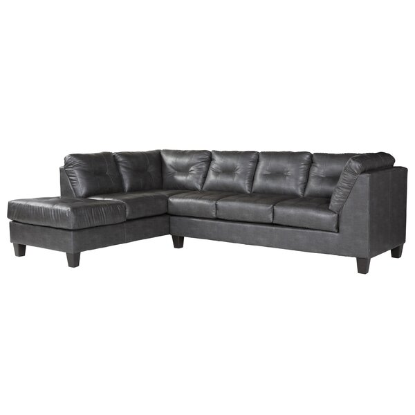 Waterton Left Hand Facing Sectional By Ebern Designs
