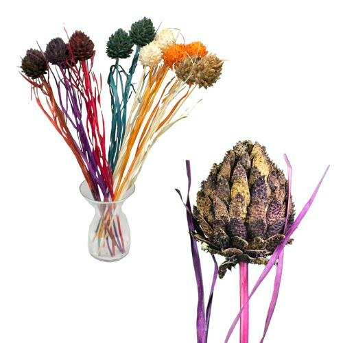 Artificial Flower Stem (Set of 7) by August Grove