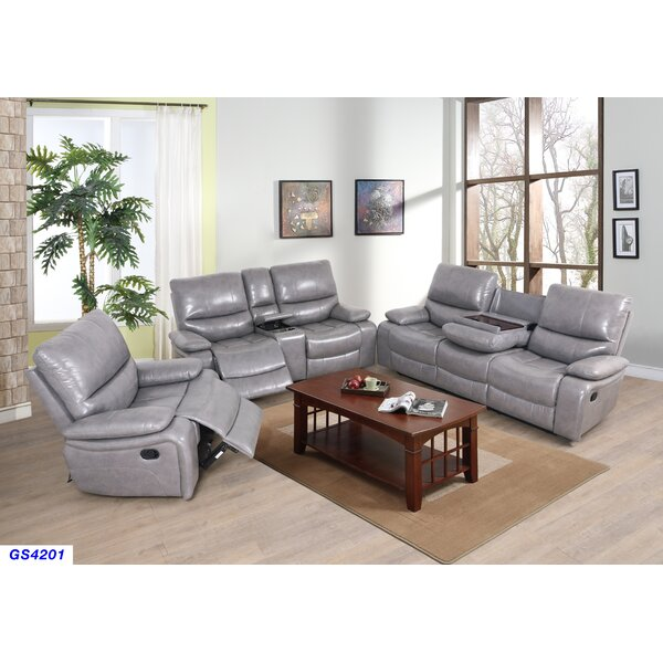 Jayvion 3 Piece Reclining Living Room Set by Red Barrel Studio