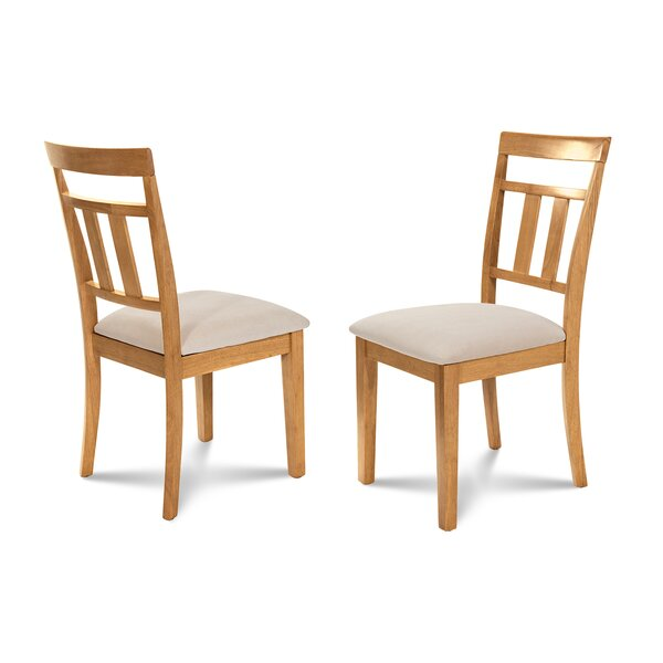Dahle Soft Padded Dining Side Chair (Set of 2) by August Grove