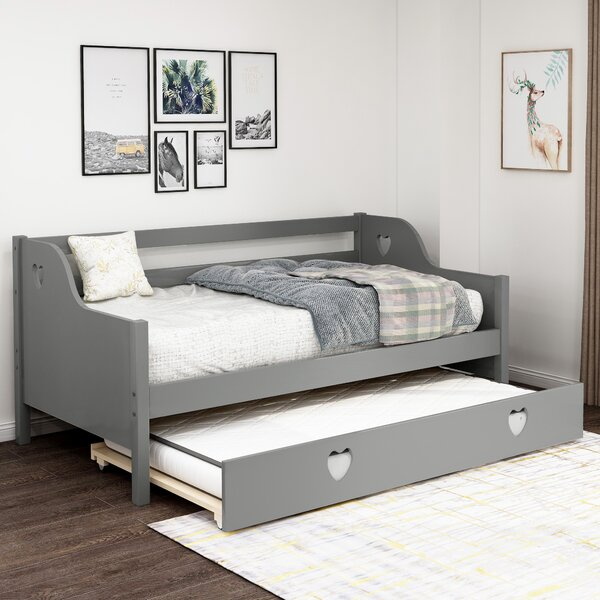 Chinasa Twin Daybed With Trundle By Red Barrel Studio
