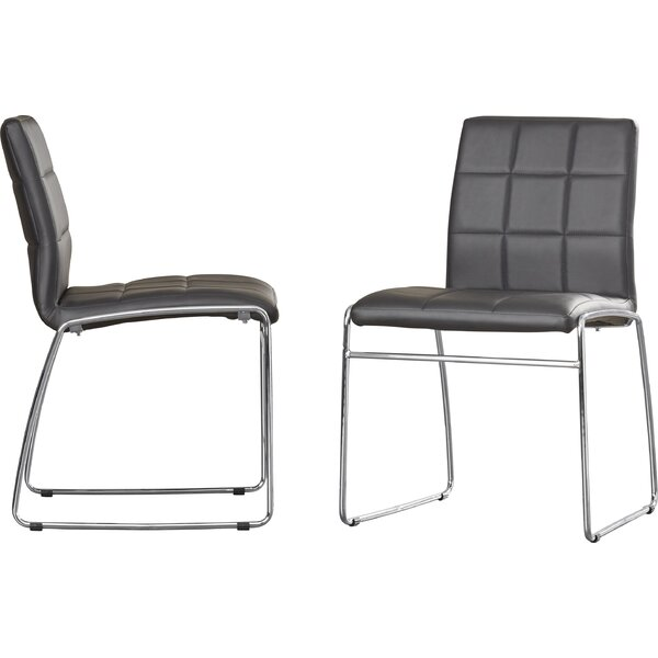 Rockaway Nick Side Upholstered Dining Chair (Set of 2) by Wade Logan