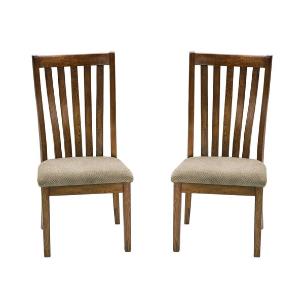 Prager Slat Back Side Chair (Set of 2) by Union Rustic