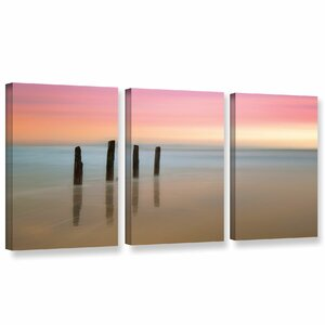 'Awakenings' Graphic Art Print Multi-Piece Image on Wrapped Canvas by Highland Dunes