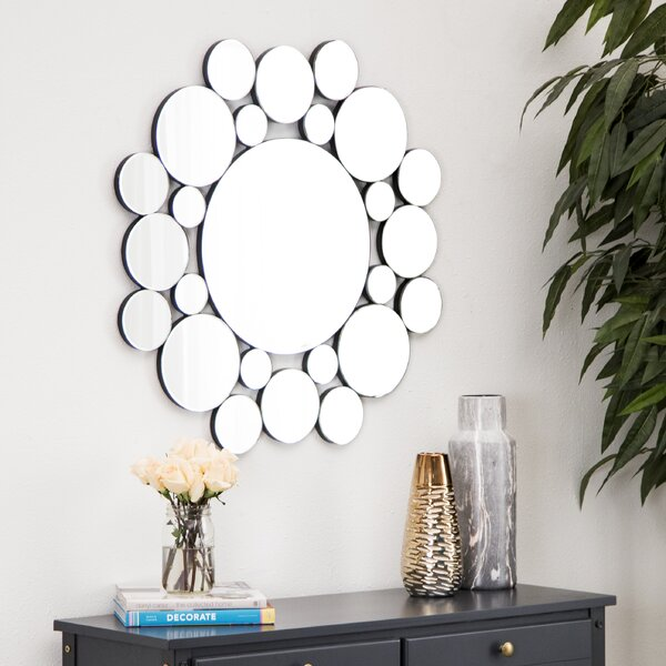 Festa Accent Mirror by Ebern Designs