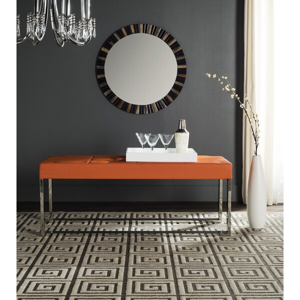 Bourke Upholstered Bench by Willa Arlo Interiors