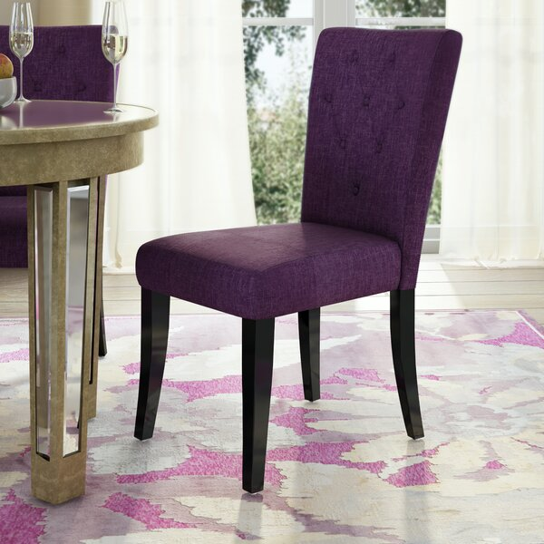 Keiper Upholstered Dining Chair (Set of 2) by Willa Arlo Interiors