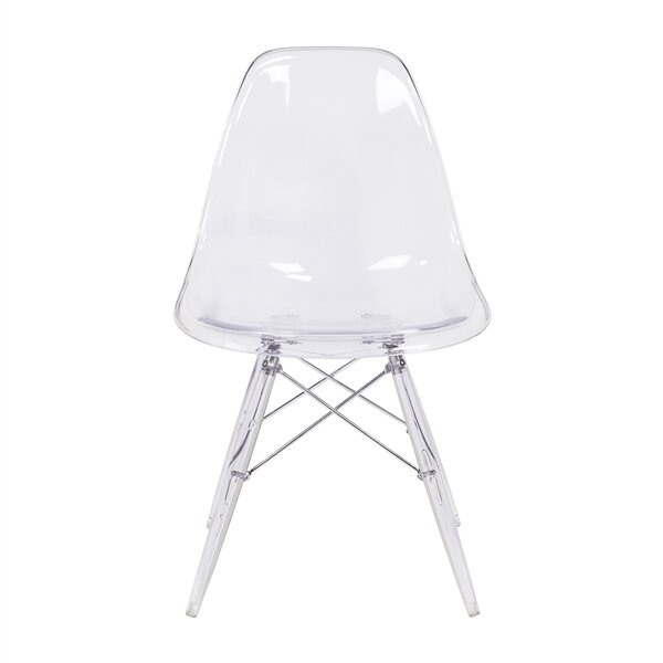 Mikels Molded Dining Chair by Wrought Studio