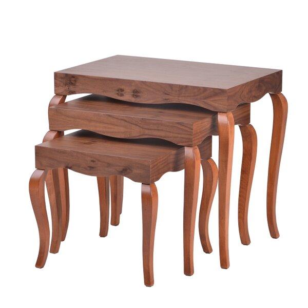 Delk 3 Piece Nesting Tables By Oak Idea Imports