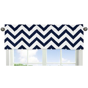 Chevron Curtain Valance