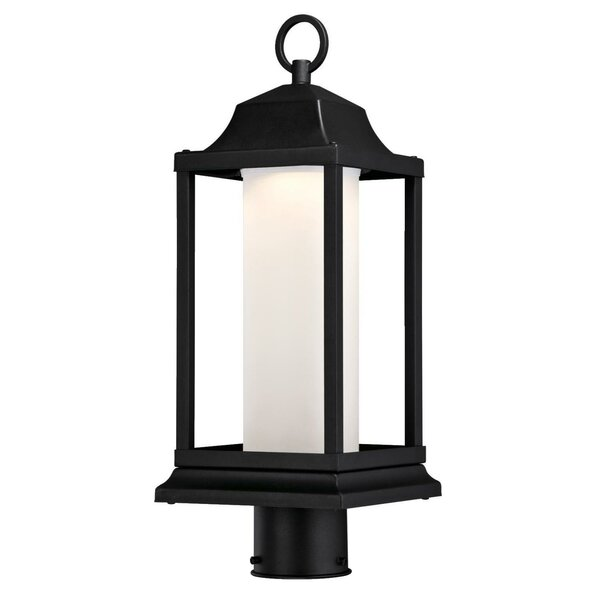 Bjorn Outdoor 1-Light LED 18.58 Post Light by Gracie Oaks