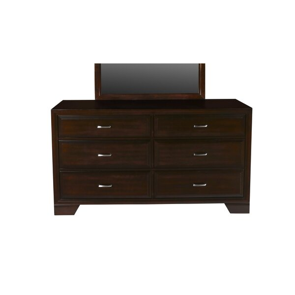 Norrington 6 Drawers Double Dresser by Red Barrel Studio