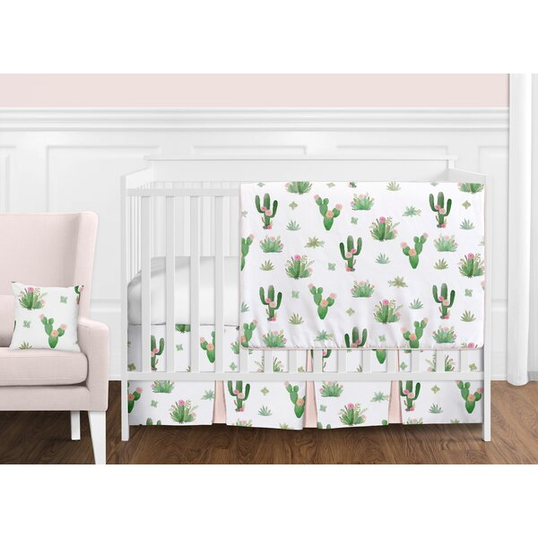 Cactus Floral 11 Piece Crib Bedding Set by Sweet Jojo Designs