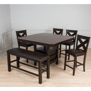 Pub Table Set With Bench Wayfair