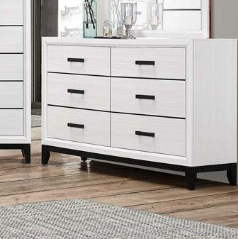 Wallis 6 Drawer Double Dresser by Ebern Designs