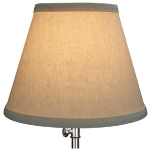 Lamp shades youll love wayfair 9 linen empire lamp shade aloadofball Gallery