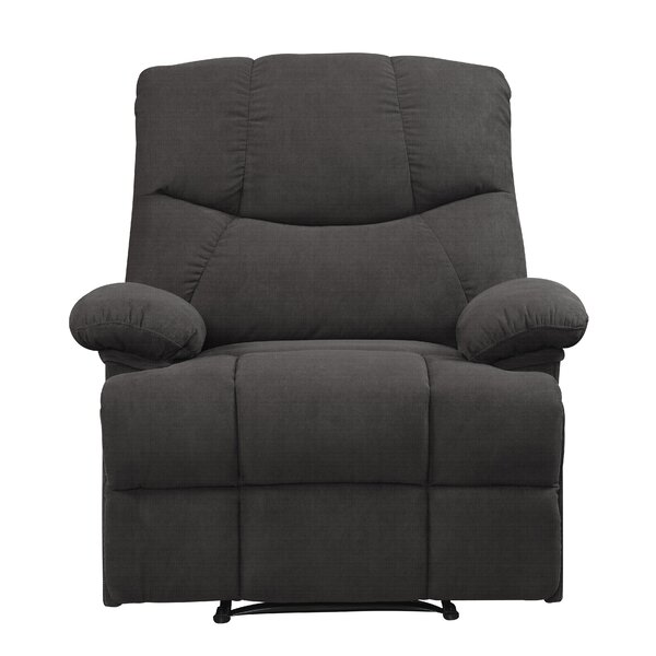 Halcomb Manual Recliner by Alcott Hill
