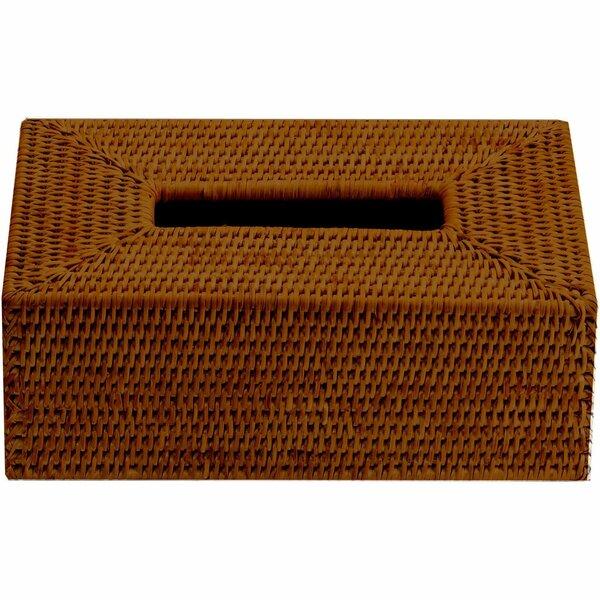 Efren Case Rattan Tissue Box Cover by Mistana
