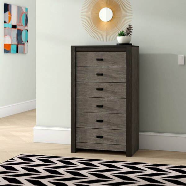 Salerna 6 Drawer Sideboard by Brayden Studio Brayden Studio