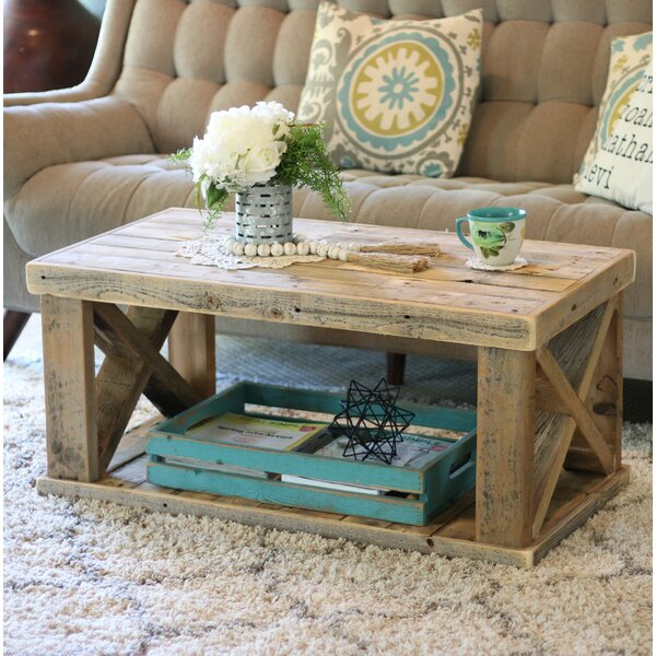 Grijalva Wooden Coffee Table by Loon Peak