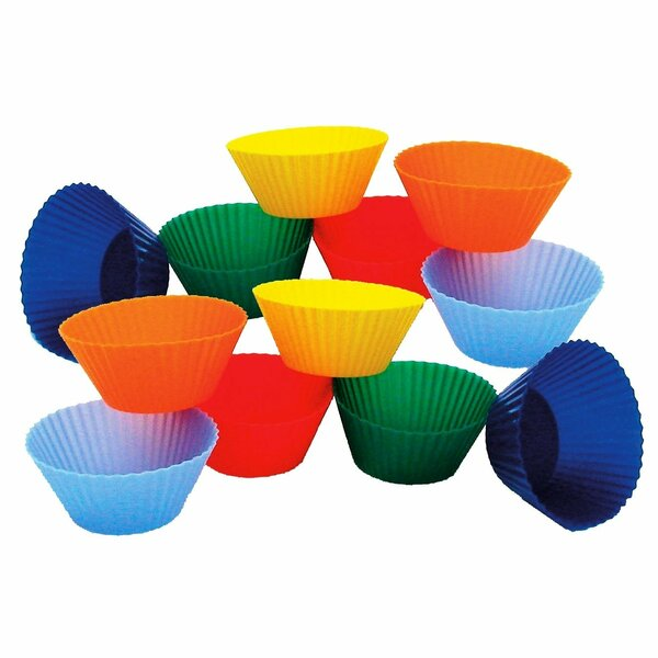 Mini Muffin Silicone Baking Cup Set Of 12 By Honey Can Do.