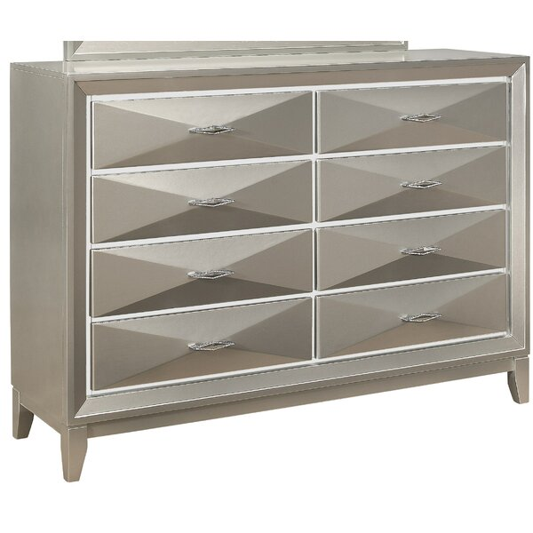 Livermore 8 Drawer Dresser by Everly Quinn