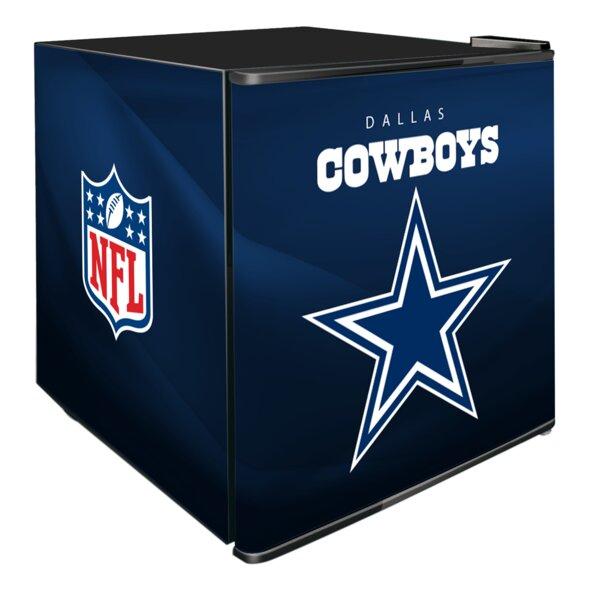 NFL 1.8 cu. ft. Compact Refrigerator by Glaros