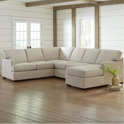 Birch Lane Heritage U Shaped Sectional Body Fabric Sectionals