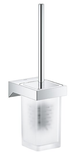 Selection Cube Wall Mounted Toilet Brush and Holder by GroheSelection Cube Wall Mounted Toilet Brush and Holder by Grohe