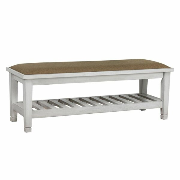 Elkins Park Upholstered  Bench by Highland Dunes