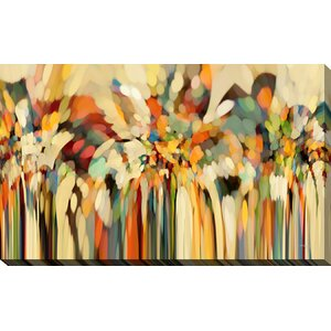 'Angels Guiding Lot. Genesis 19:15' Framed Painting Print on Canvas by Picture Perfect International