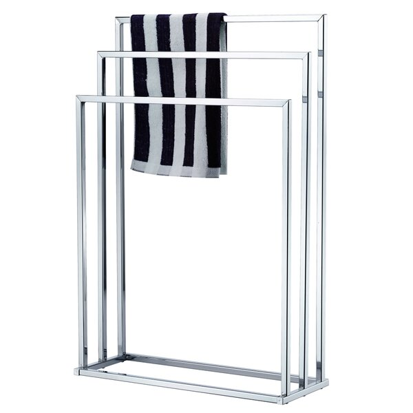 Cavazos 3-Tier Free Standing Towel Stand by Rebrilliant
