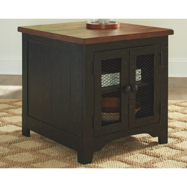 Yang End Table With Storage By Gracie Oaks