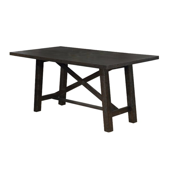 Greeson Counter Height Solid Wood Dining Table by Gracie Oaks Gracie Oaks