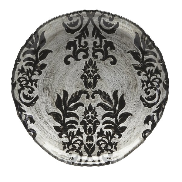 Damask 9 Salad Plate by Red Pomegranate